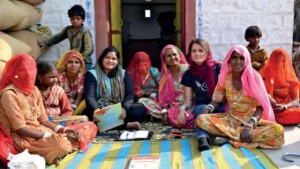 Women in Self Help Groups receive grants and loans for small businesses