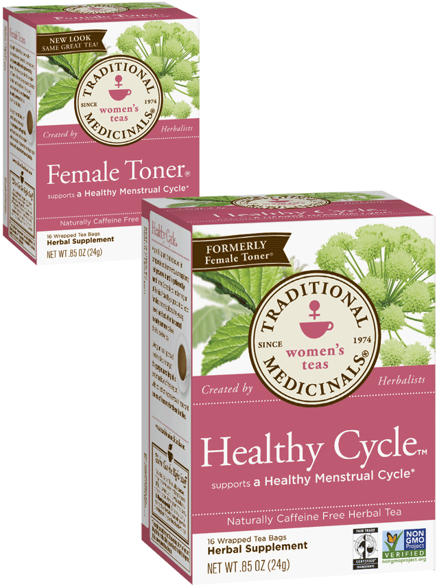 Healthy Cycle™ - Traditional Medicinals Traditional Medicinals Tea